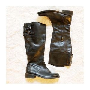 Vince Camuto Leather Knee High Riding Boots sz7.5